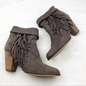 Steve Madden Tan Ankle Boots